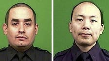Two New York police officers killed in ambush shooting