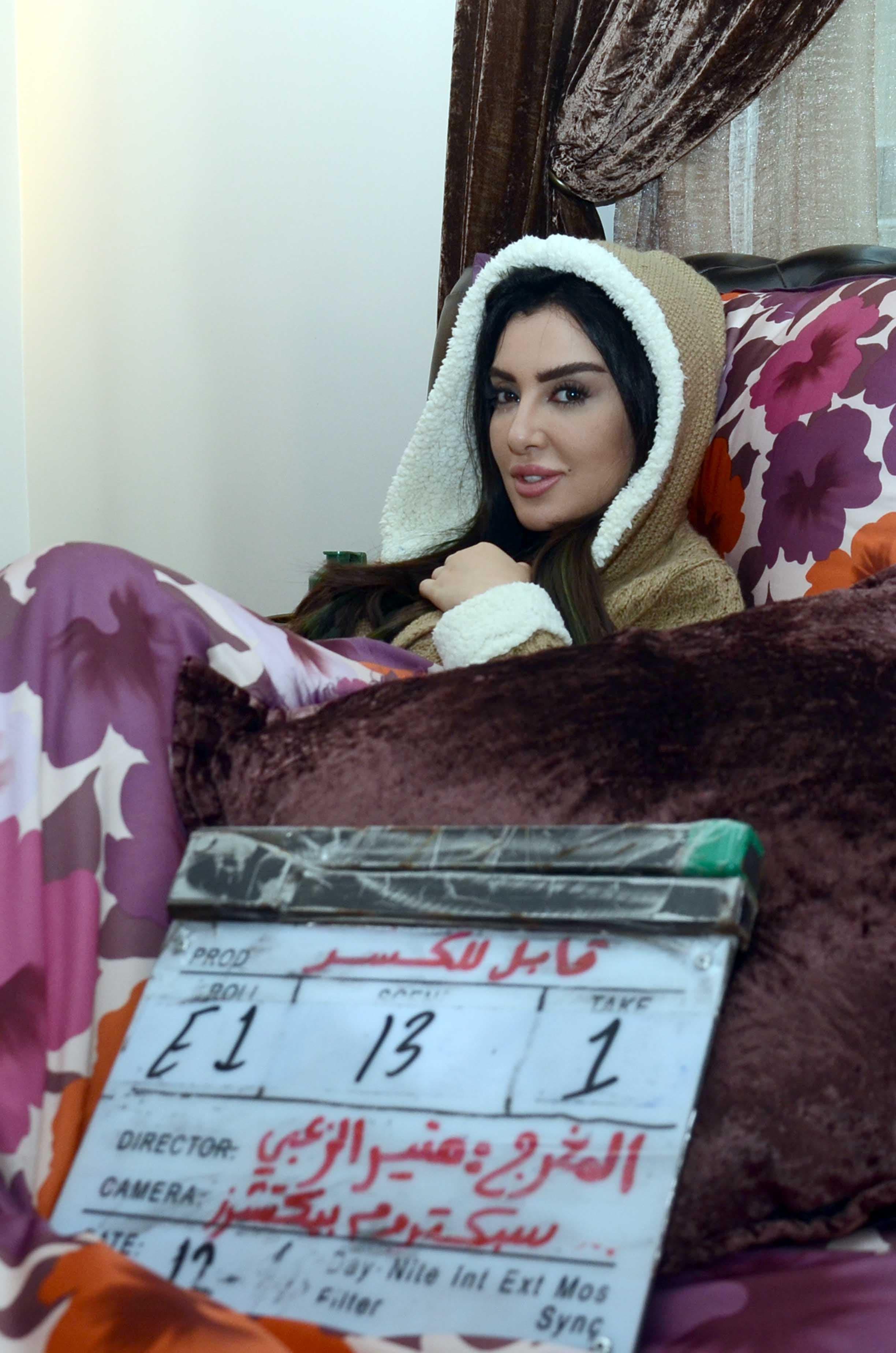 ميساء المغربي في مسلسل - قابل للكسر