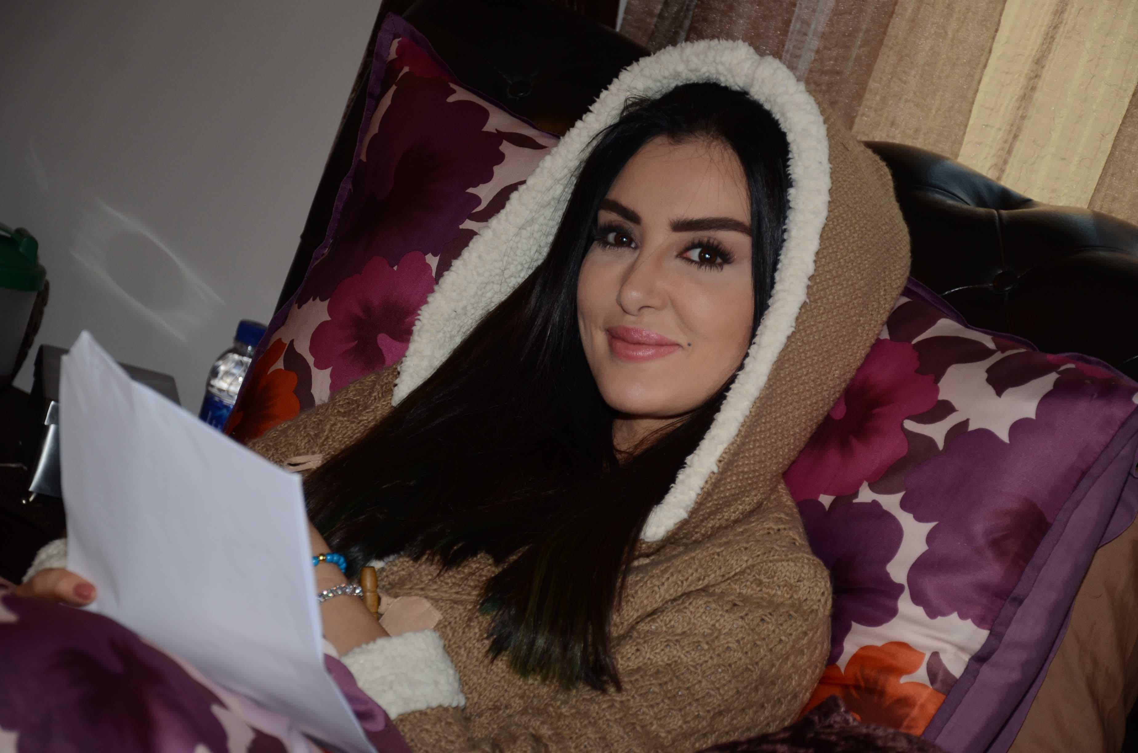 الفنانة ميساء المغربي