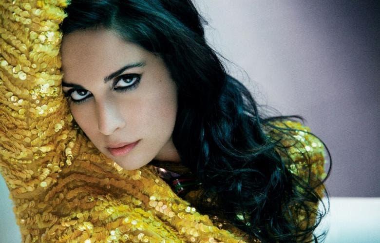 A photo of Lebanese singer Yasmine Hamdan. (Photo: Al-Akhbar)