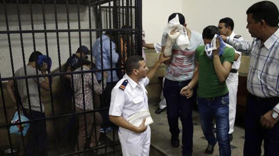egypt gay men court AP