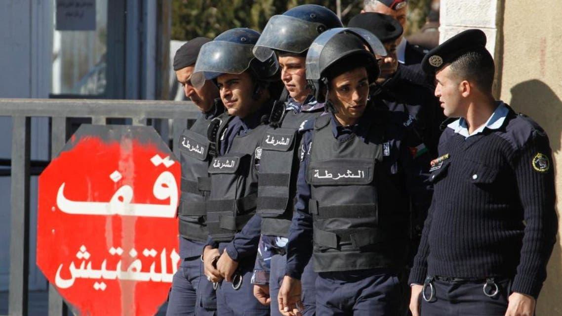jordan police security jordanian reuters