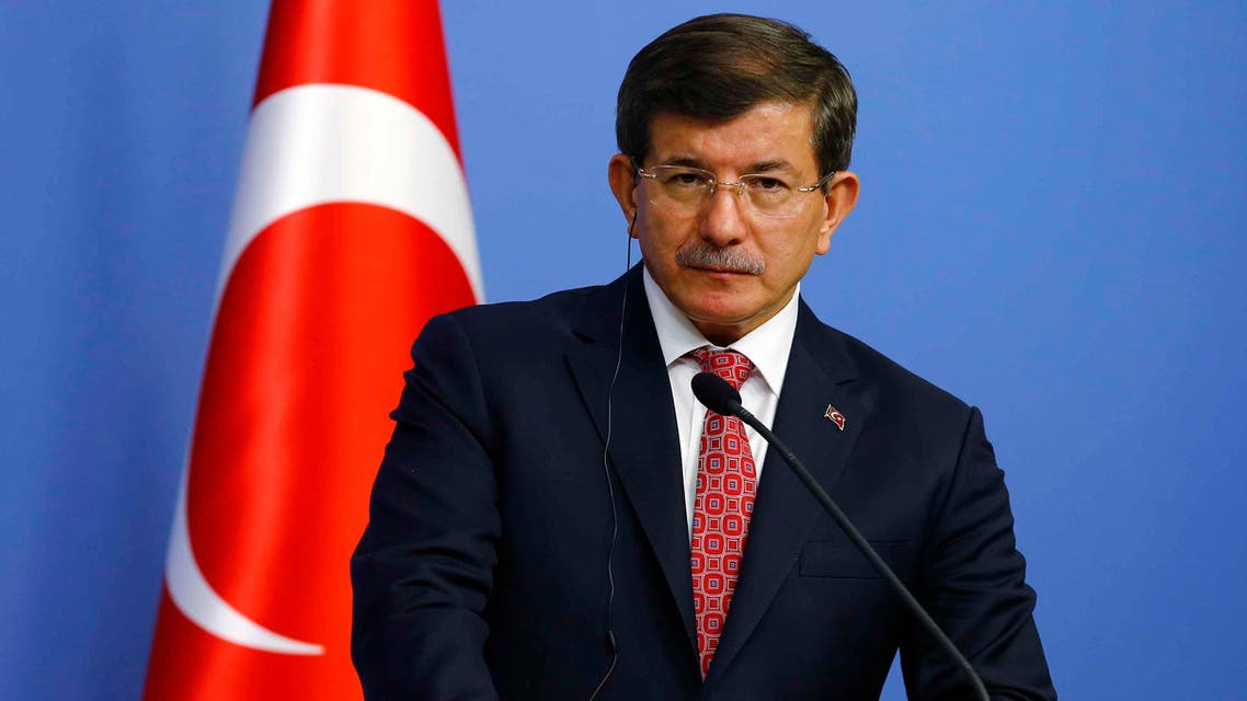 Turkey's Prime Minister Ahmet Davutoglu addresses the media in Ankara December 11, 2014. (Reuters)
