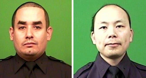 الشرطيان القتيلان ليو وينجين ورافائيل راموس البالغان 32 و40 سنة