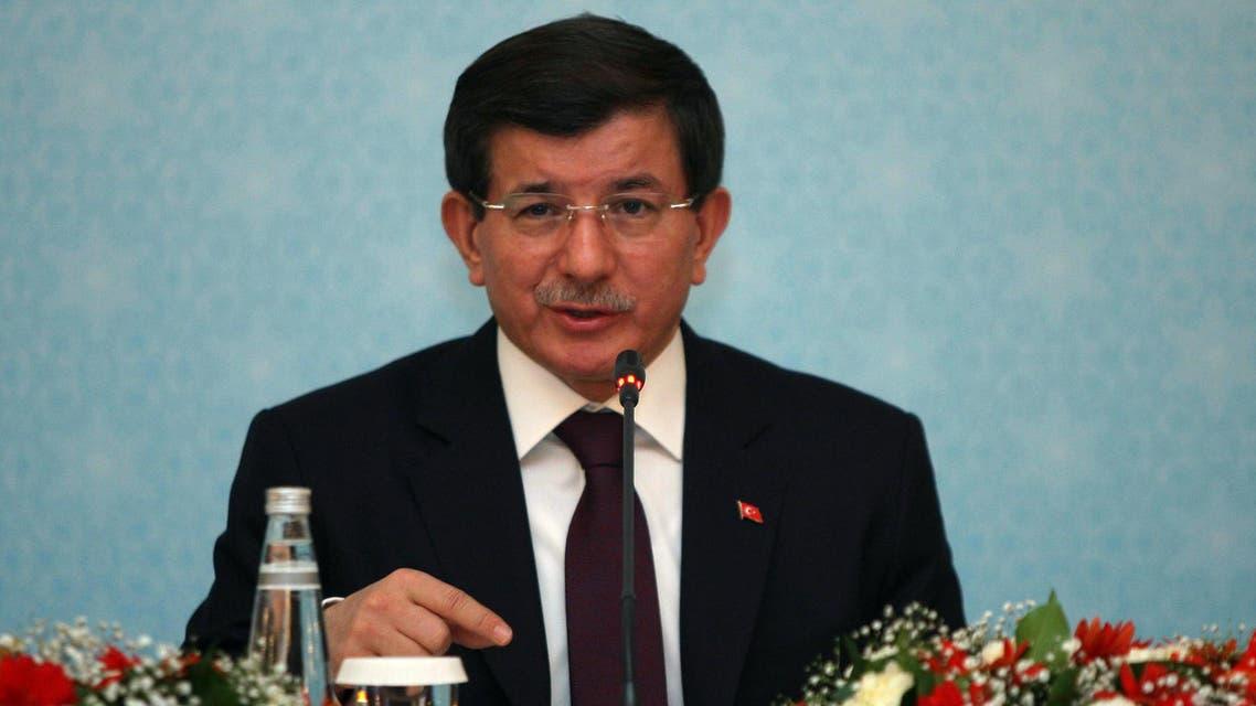 Turkish Prime Minister Ahmet Davutoglu AFP