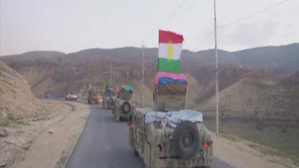 THUMBNAIL_ البيشمركة تسيطر على الطريق الرئيسي وجبل سنجار وتحاصر داعش في الأحياء