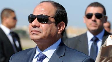 السيسي يزور قبر السادات في احتفالات سيناء
