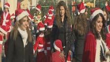"""""""العربية"""" مع بابا نويل في احتفالات الميلاد بالعراق"""
