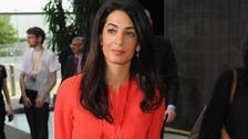 Amal Clooney to represent Armenia in European Court