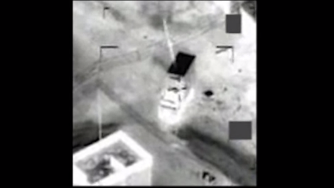 This video still shows coalition members striking an ISIS target on Dec.18 in Iraq. (File photo courtesy: YouTube) air strike airstrike