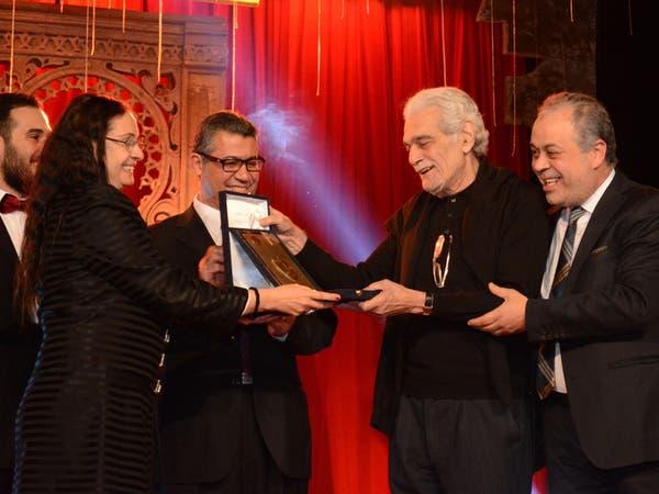 تكريم عمر الشريف بمهرجان المسرح العربي