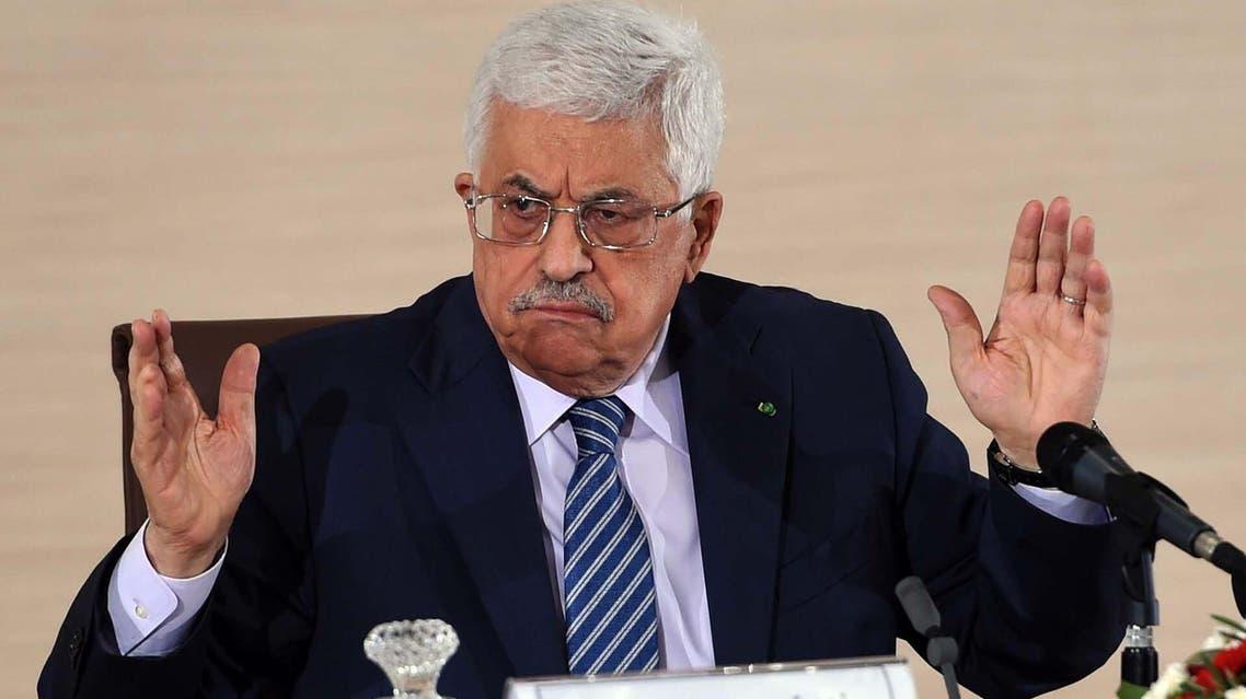 محمود عباس في الجزائر