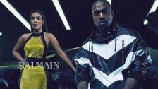 Kim Kardashian, Kanye West chosen as new faces of Balmain