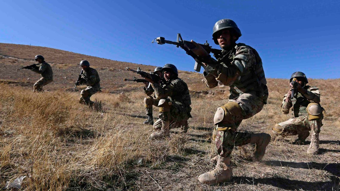 Afghan National Army (ANA) soldiers take part in a training exercise at a military base in Kabul November 23, 2014. (File photo: Reuters)