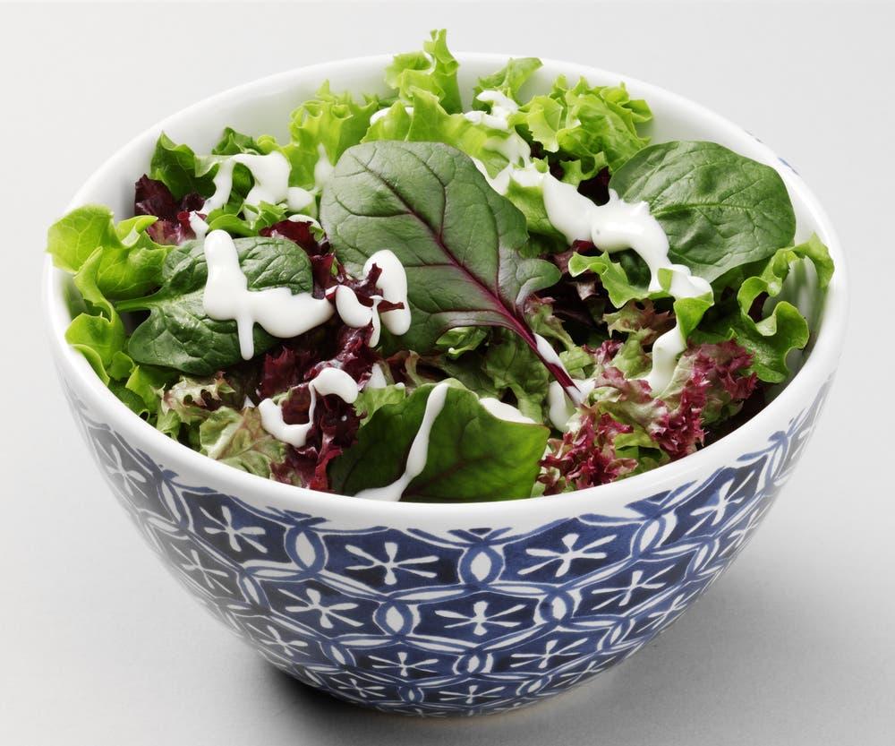 green salad shutterstock