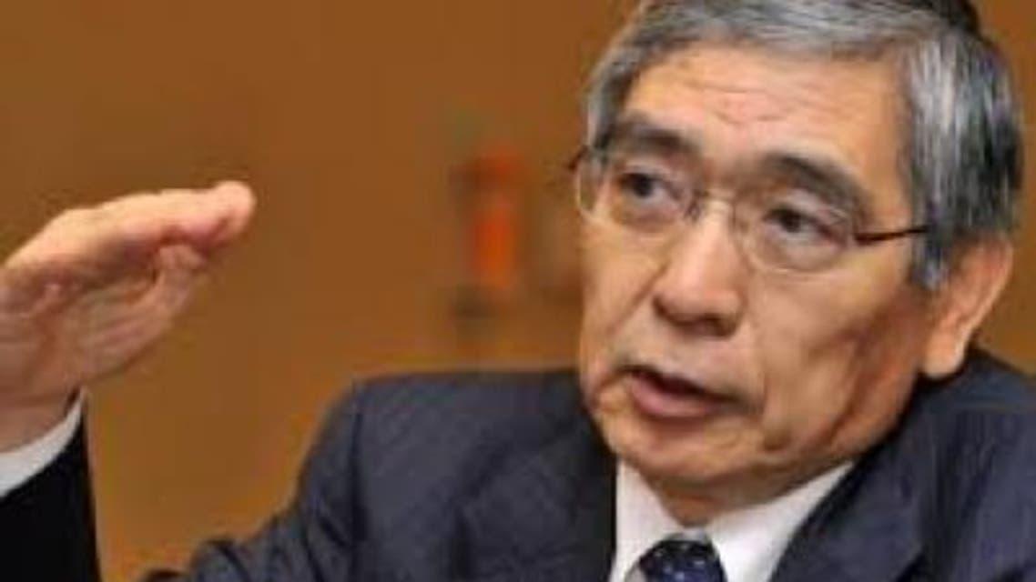 هاروهيكو كورودا محافظ البنك المركزي الياباني