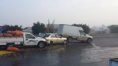 مصر.. مقتل 8 وإصابة 28 آخرين بحادث مروري بسبب الضباب
