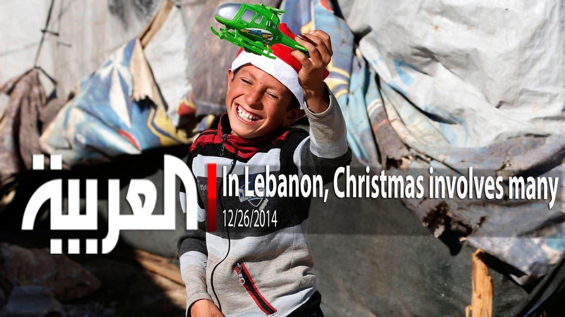 In Lebanon, Christmas involves many