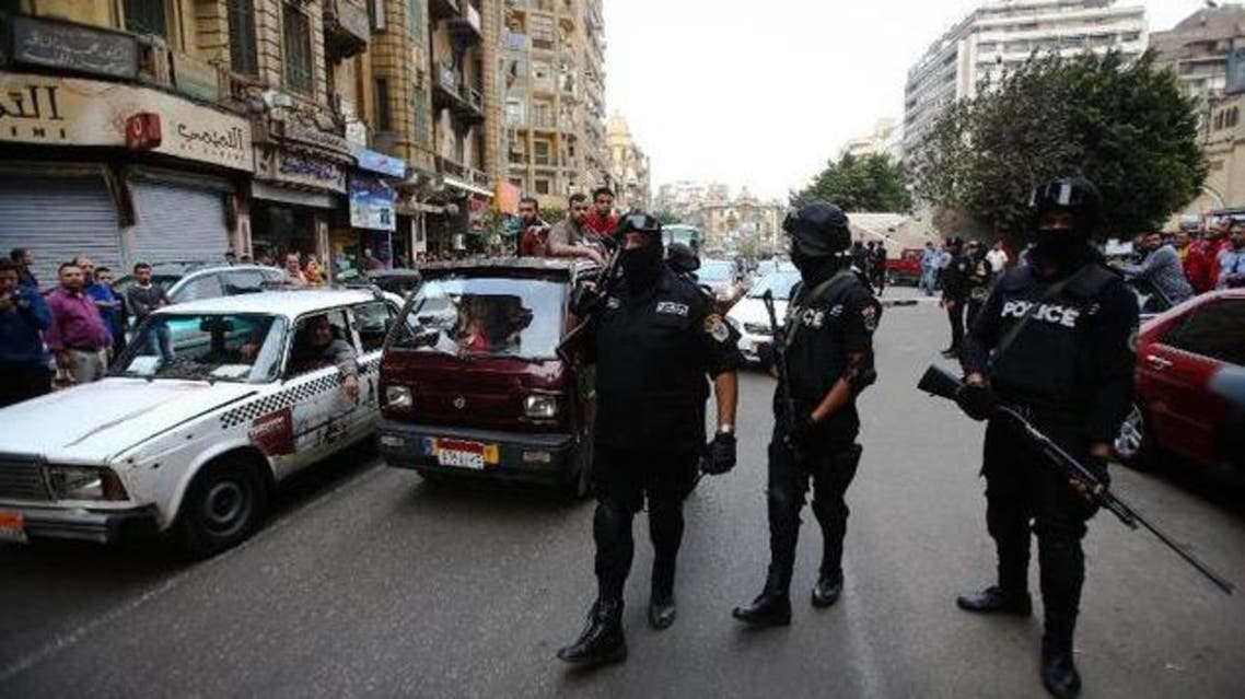 police cairo AFP