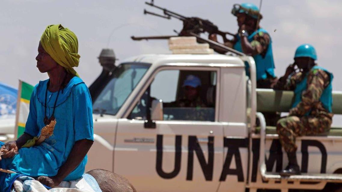 unamid sudan darfur peacekeeping united nations un forces AP