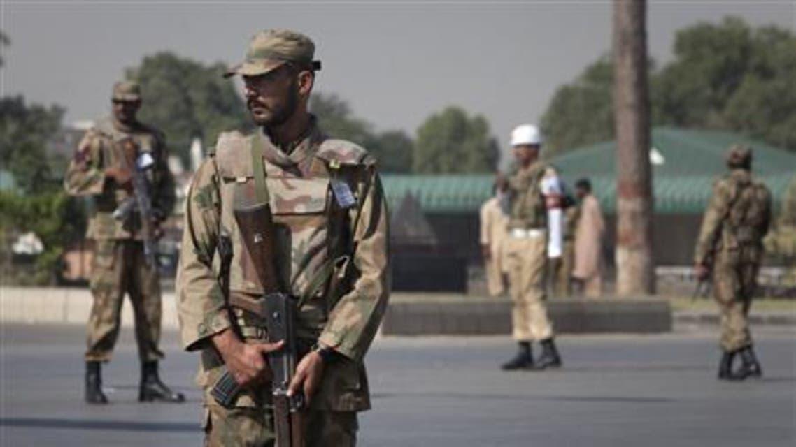 Pakistan army reuters