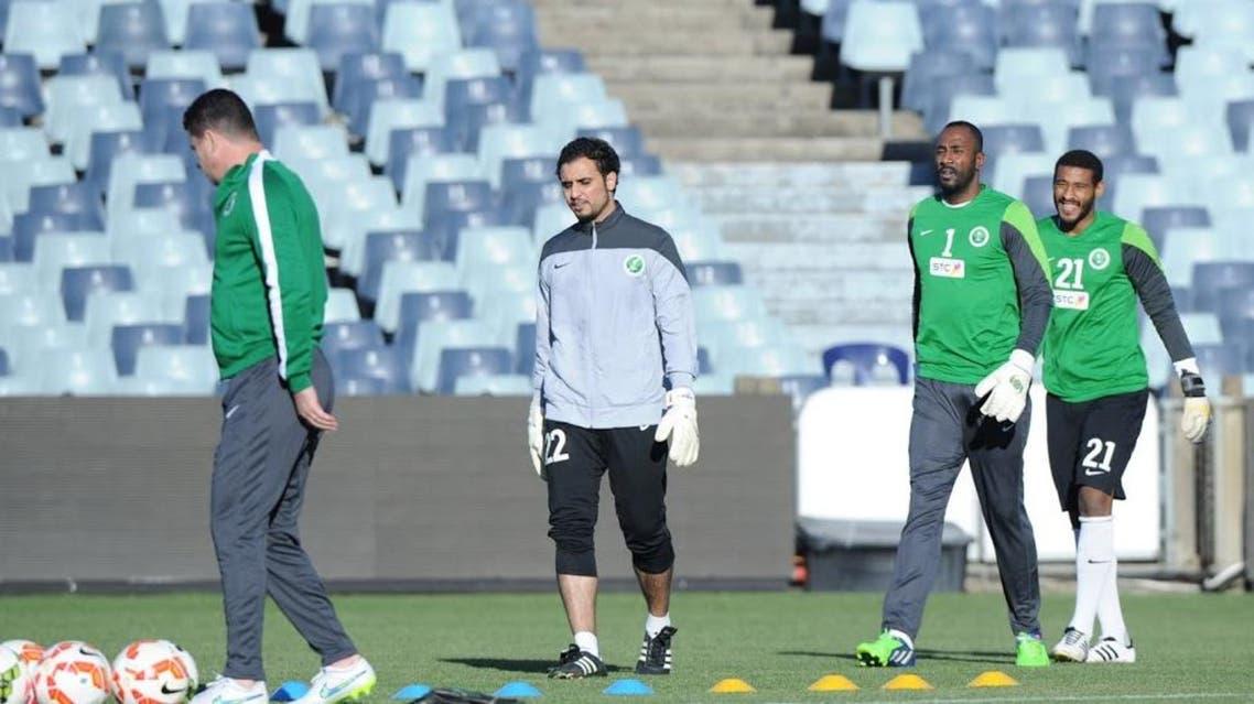 تدريبات حراس المنتخب السعودي في أستراليا
