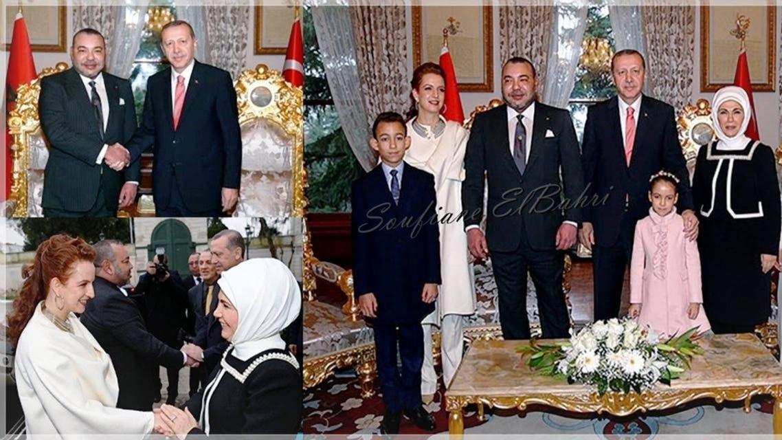 ملك المغرب يزور تركيا