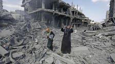 منظمات غير حكومية  تدعو المجتمع الدولي لإعمار #غزة