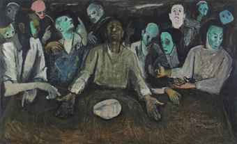 """Egypt's Hassan Soliman's """"The Last Supper"""""""