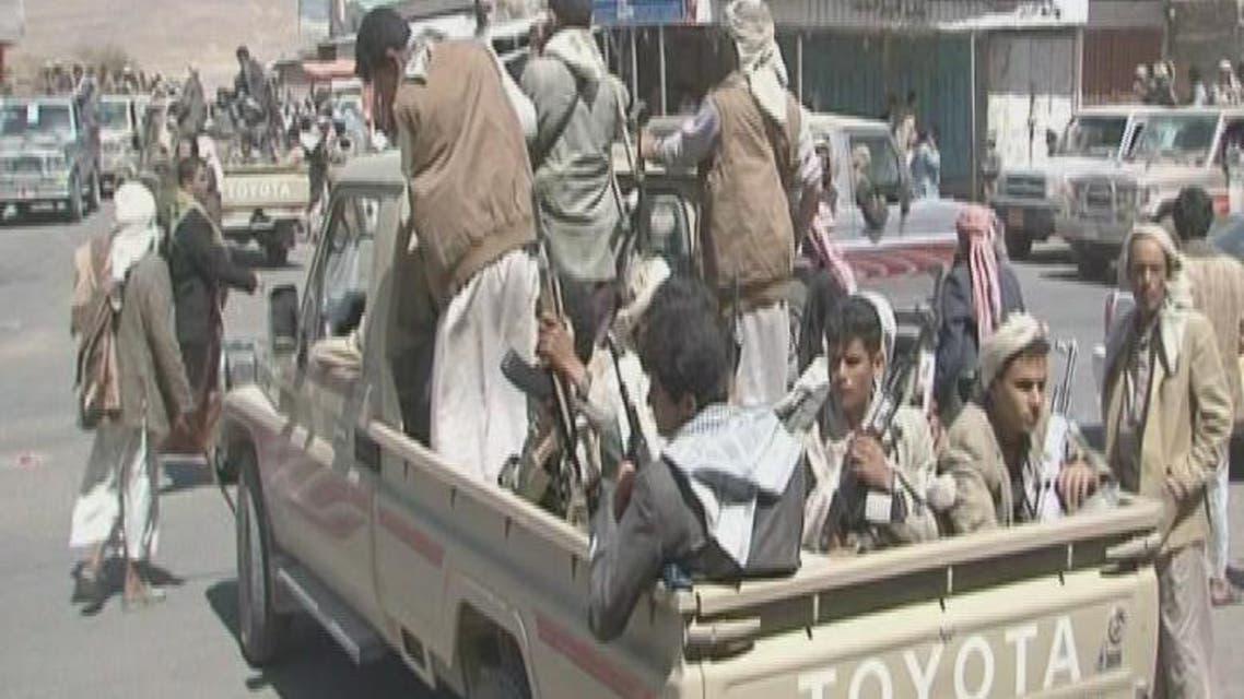 THUMBNAIL_ اليمن.. مقتل 33 بتفجير انتحاري استهدف الحوثيين في إب