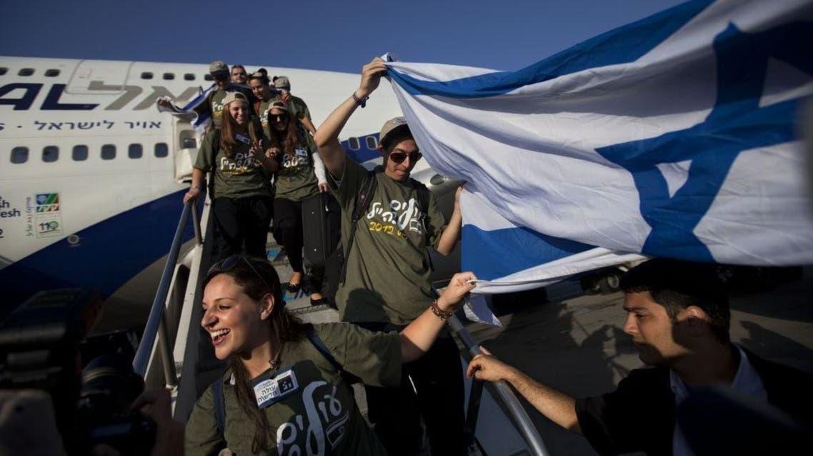 Israel immigrants AFP