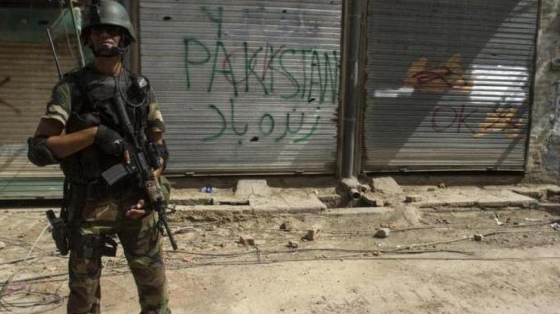 Pakistani soldier reuters