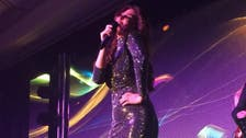 Lebanese diva stumbles on stage during NYE performance