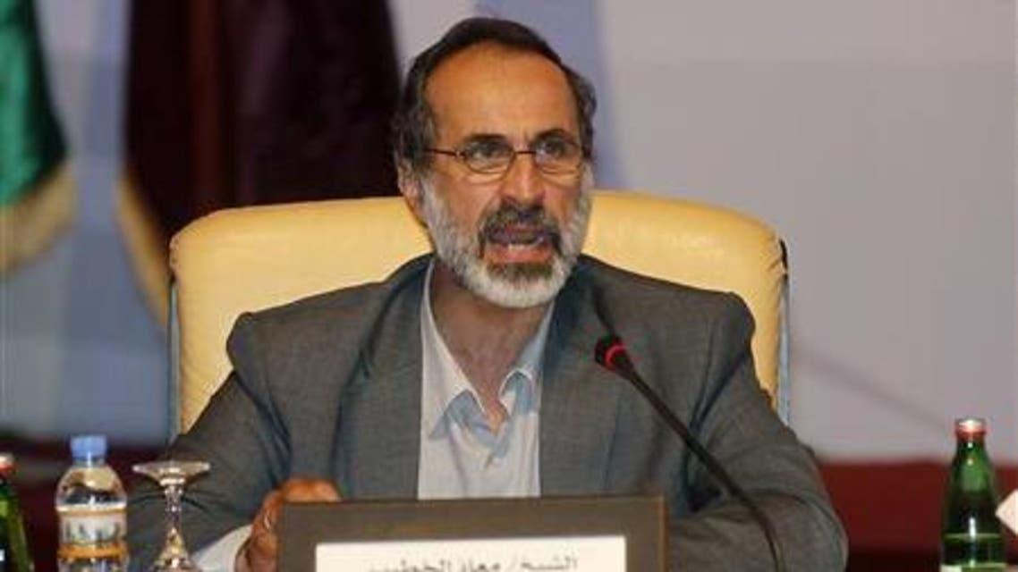 Moaz al-Khatib reuters