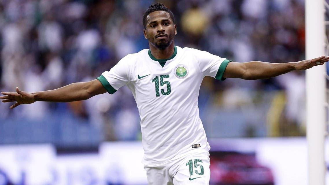 nasser al-shamrani shamrani saudi football player saudi arabia reuters