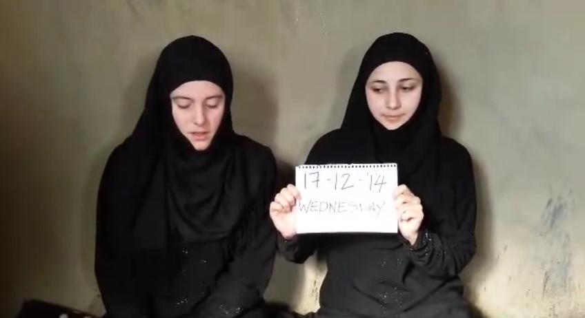 Italian aid worker Nusra Front (screengrab)