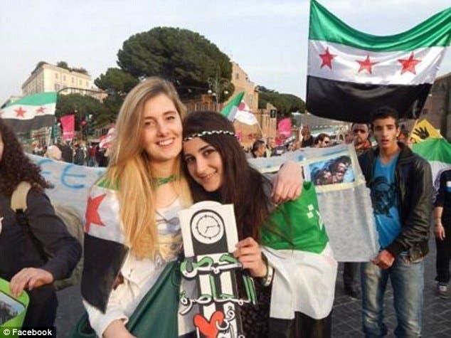 Italian aid worker Nusra Front (Facebook)