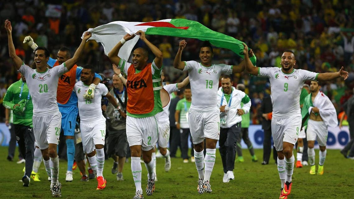 algeria national sqaud REUTERS
