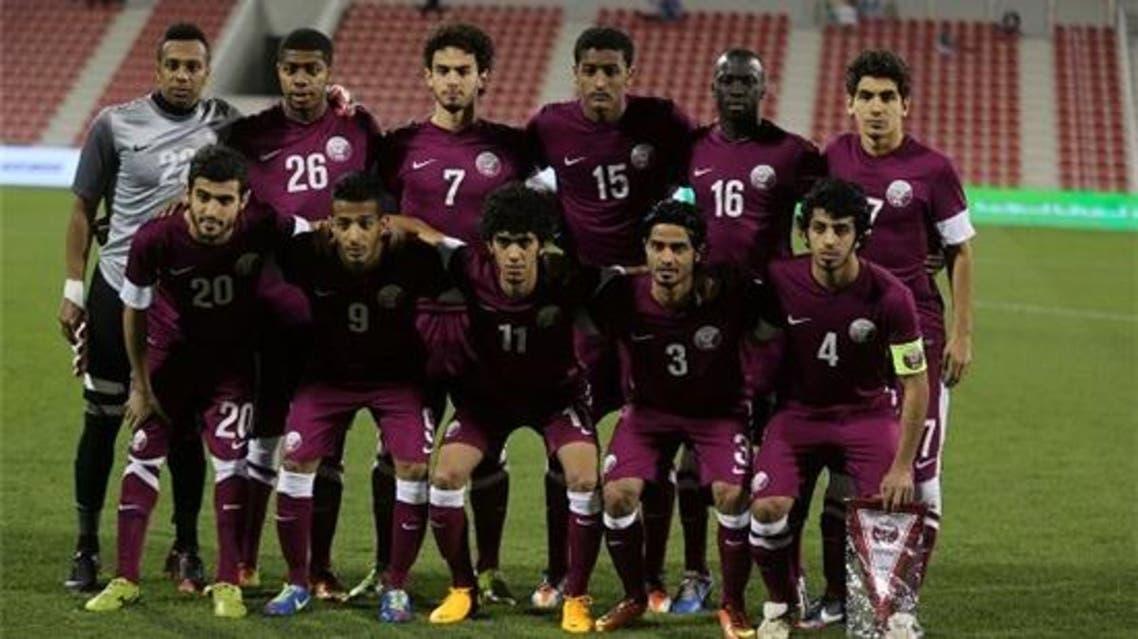 Qatar Football team Courtesy QFA