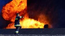 Official: Fire extinguished in Libya's al-Sidr port