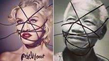 Madonna defends altered photos of MLK, Mandela