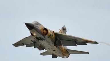 طرابلس.. طيران الجيش يستهدف مقر القوة الثامنة بالنواصي