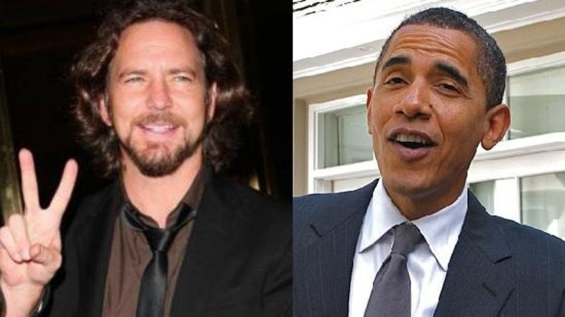The White House described Pearl Jam frontman Eddie Vedder as a friend of the Obamas. (Photo courtesy: alternativenation.net)