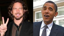Obama hangs out in Hawaii with Pearl Jam's Vedder