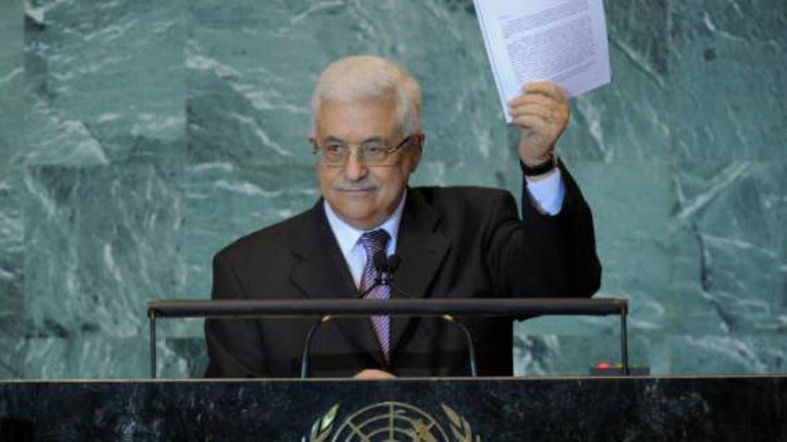 Abbas - UN. AFP