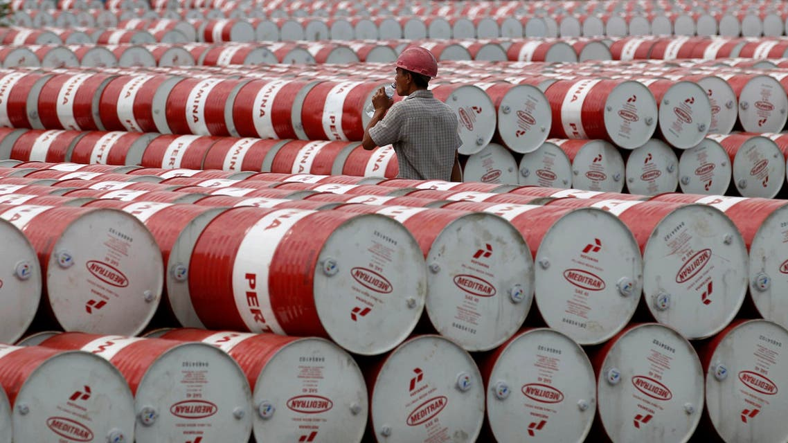 Oil Barrels Reuters