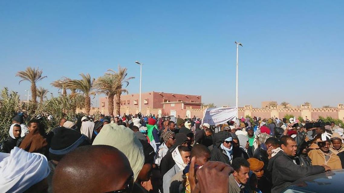 احتجاجات الغاز الصخري الجزائري