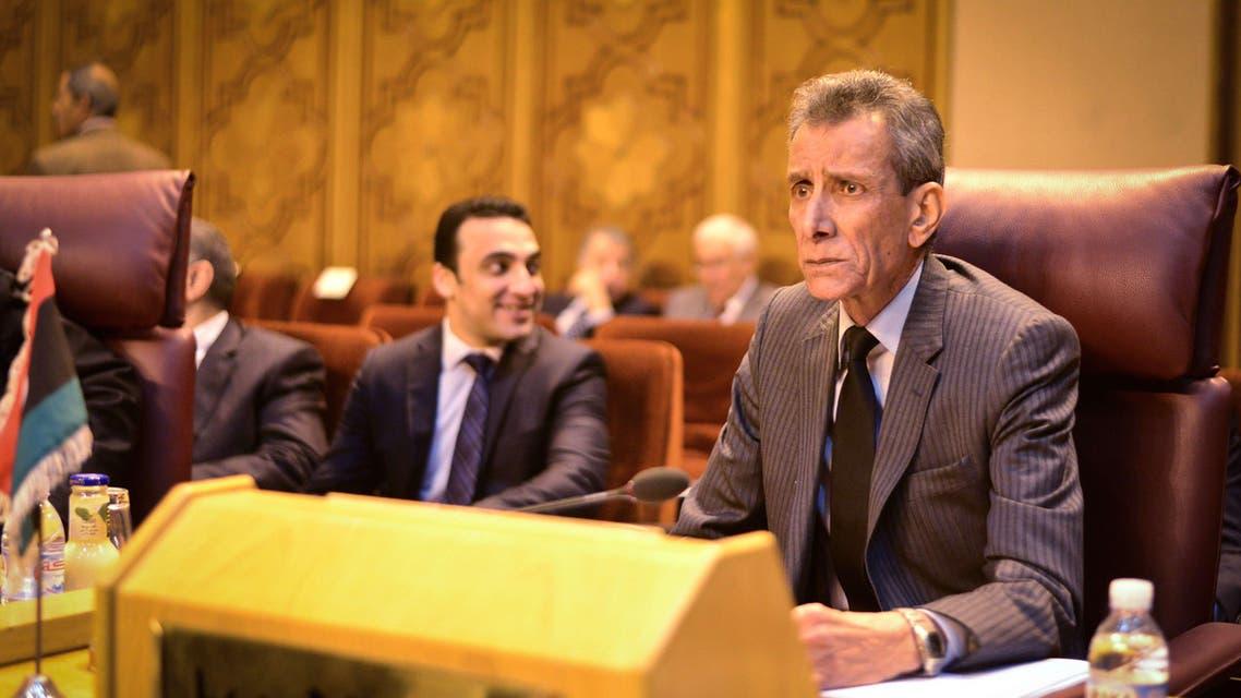 Ashour Abu-Rashed Arab League Libya AFP Cairo