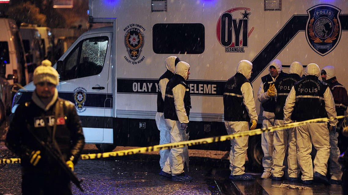 Istanbul police attack suicide bomber AFP