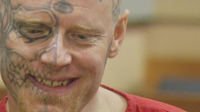 Skull-tattooed U.S. 'Eyeball' man gets 22 years for